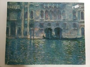 Springbok Puzzle 1971 Palazzo Da Ma Venice More Than 450 Pieces By Claude Monet