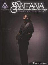 Santana Guitar Anthology TAB Music Book Black Magic Woman Maria Smooth Europa