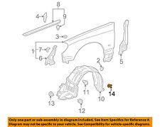 Lexus TOYOTA OEM 01-06 LS430-Fender Liner Grommet 9018906087