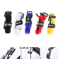 2pcs Back To Back Nylon Strap 25cm Bike Bicycle Pump Holder Ties Fixe_WK