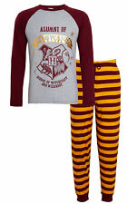 Mens Harry Potter Pyjamas Alumni Hogwarts PJs Gryffindor T-Shirt + Lounge Pants