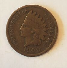 1900, United States Indian Head Cent, 1900, 1¢ Penny