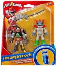 Imaginext Mighty Morphin Power Rangers - Thunder Megazord & Pirantishead NEW