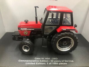 UH 1/32 Case IH 1494 2WD Commemorative Edition Tractor Diecast Model UH6261 Toy