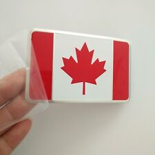 Car Decoration Chrome Emblem Badge Flag of Canada Maple Leaf 3D Logo NEW