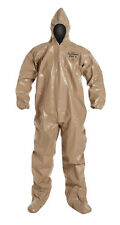Dupont C3122ttnxl000600 Tychem Cpf3 Chemical Nbc Chem Suit Withhood Amp Boots New