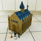 Popco Harry Potter Hogwarts Great Hall Playset with Toy Action Figures Bundle