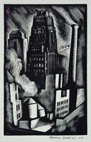 Howard Cook : Radiator Building : 1930 : Archival Quality Art Print