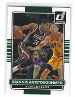 2014-15 Panini Donruss Giannis Antetokounmpo #98 Milwaukee Bucks