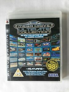 SEGA mega Drive Ultimate collection Playstation 3 Game PS3 complete FREE...