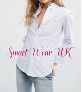 Ralph Lauren Oxford Ladies Slim Fit Shirt (Blue ) RRP £95