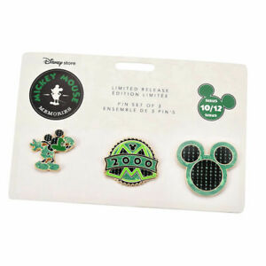 Mickey Mouse Memories PIN Set - OCTOBER 10/12 OCT - Disney New Limited - UK