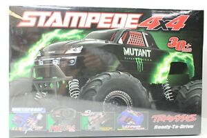 TRAXXAS STAMPEDE 4X4 RTR MUTANT 1/10 SCALE FACTORY SEALED SEE PICTURES