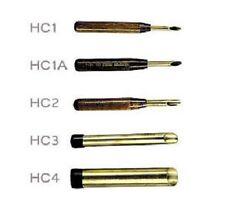 Set of 5 Kemper Clay & Pottery Diameter Hole Cutter Hc1A , Hc1 , Hc2 , Hc3 & Hc4