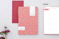 ARDIUM GEOMETRIC PLANNER [NORDIC] Journal Monthly Weekly Yearly Scheduler Memo