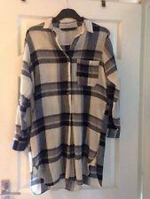 Zara Checked Long Sleeve Dresses for Women