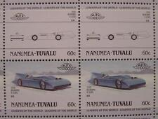 1935 Malcolm Campbell BLUE BIRD Car 50-Stamp Sheet Auto 100 Leaders of the World