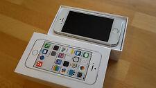 Apple iPhone 5s 32GB silber in Box ohne Simlock + brandingfrei + iCloudfrei !