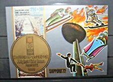 "GUINEA ECUATORIAL 1972 ""WINTER OLYMPICS - SAPPORO"" MNH** BLOCK IMPERF. (CAT.5)"