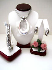 "Brighton ""TALANA"" Ring Long Necklace-Earring-Bracelet Set (MSR$194) NWT/Pouch"