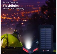 Portable Solar Charger/Powerbank 10,000mAh Best Waterproof Phones,USB Device,Tbt