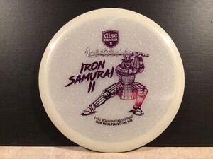 Discmania Iron Samurai 2 - Eagle McMahon Signature Glow Metal Flake C - Line MD3