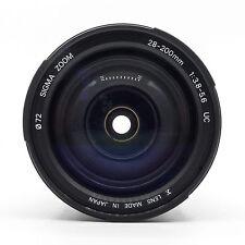 SIGMA 28-200 mm f/3.8-5.6 UC Asphérique (Minolta AF) - Entièrement Testé-SUPERBE