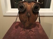 "RARE HAND MADE ART FROM FARMING TOOLS ""Owl Made From Shovel & Other Tools"""