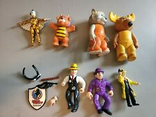 Vintage Toy Lot Dick Tracy Get Along Gang Silverhawks Wuzzles