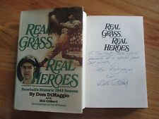 Boston Red Sox Little Professor DOM DIMAGGIO signed REAL HEROES Book To Jim Kaat