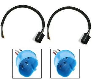 Wire Pigtail Male L 9007 HB5 Two Harness Head Light Replace Plug to Stock Socket