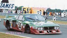 FACETTI & FINOTTI JOLLY CLUB Lancia Beta Montecarlo Le Mans 1980 Fotografia