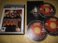 PC GAME-DOOM 3-III-3 DISCHI-3 CD-Computer-Gioco-Games-ITA-ITALIANO