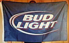 Budweiser Bud Light Beer Flag 3x5 Indoor Outdoor Banner mancave bar Best Quality