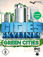 Cities Skylines - Green Cities DLC Key - PC STEAM Download Code - DE/Global