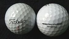 """20 TITLEIST  """"PRO V1X"""" - """"REFINISHED"""" - PRINTED ON BALL -""""ANY"""" MODEL- """"PEARL/A"""""""
