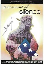 A Moment of Silence 1 Signed by Mark Bagley 911 Autographed Combined Shipping