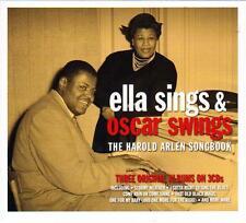 ELLA FITZGERALD SINGS & OSCAR PETERSON-SWINGS THE HAROLD ARLEN SONGBOOK NEW 3CD