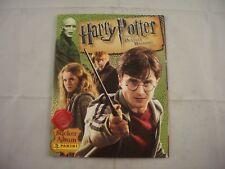 Panini Harry Potter and the Deathly Hallows part 1 Sticker Album Empty