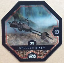 STAR WARS ROGUE ONE Jeton 39 SPEEDER BIKE Cosmic Shells E.Leclerc DISNEY