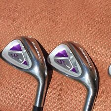 Women's RH -Adams Golf Speedline 7,8,9,PW,SW Iron Set-Lite Ladies Graphite
