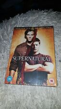 SUPERNATURAL SEASON 6 VOLUME TWO.DVD.NEW AND SEALED.