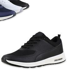 Herren Sportschuhe Laufschuhe Runners Sneakers Schnürer 815206 Top