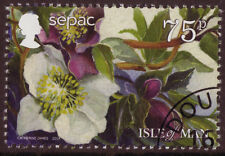 ISLE OF MAN 2014 SEPAC FLOWER STAMP FINE USED