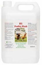 KG Poultry Wash For Birds & Coup 5000ml Cleans Away Parasites, Lice & Mites