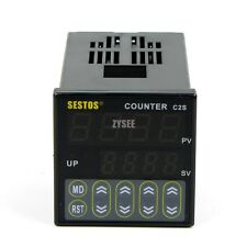 AC/DC Digital Counter Range 1 - 9999 Max.5kpcs C2S-R-24 12-24V