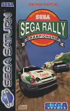 # Sega Saturn de SEGA rally en Plastic OVP-Top #