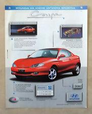 C087-Advertising Pubblicità-1998- HYUNDAI COUPE