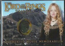 El Señor de los Anillos Trilogía Cromado Recuerdos Carta Eowyn Regimiento Dress
