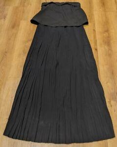 Cooper St Black Maxi Dress Size 10 RRP$189.95